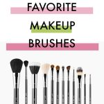 My Top 10 Favorite Makeup Brushes