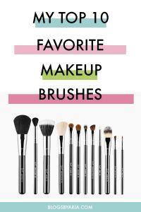 My Current Favorite Makeup Brushes