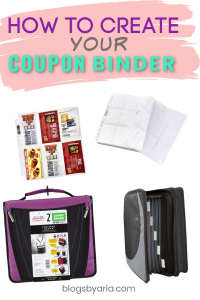 What I Need For My Coupon Binder