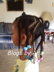 Brianna's Hair Series ~ Back to School Do