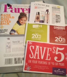 Coupons in Magazines