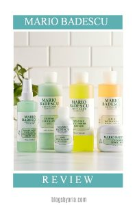 Mario Badescu Samples…My Thoughts