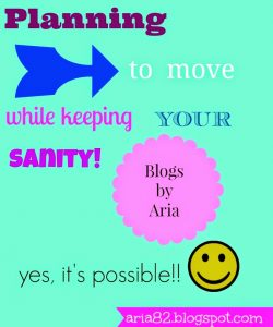 Planning to Move While Keeping Your Sanity