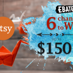 Ebates Giveaway | Enter to win a $150 Etsy Gift Card!!!
