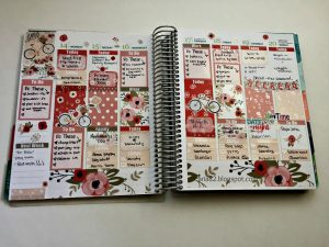 #PlanwithAria | GlamPlanner Spread