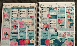 June Monthly Planner Spreads Round-up