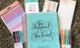 My New Blog Planner:  Erin Condren Deluxe Monthly Planner Review