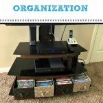 tackling DVD and video game organization #organized