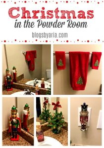 CHRISTMAS IN THE POWDER ROOM
