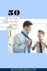 8th Grade Formal & Gifts for Dad