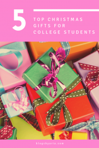 Top 5 Christmas Gifts for College Students