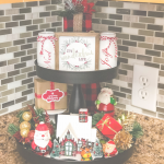 Christmas Tiered Tray Decorating Ideas