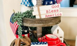 Patriotic Tiered Tray