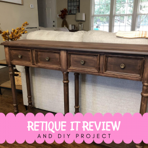 DIY Project and Retique It Review