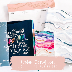 Erin Condren 2021 Life Planners – Vertical Life Planner, Softbound Life Planner and Pocket Planner