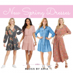 New dresses for spring fashion finds