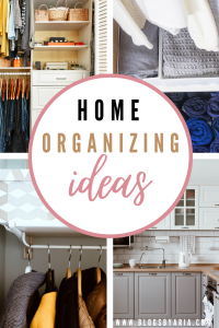 Home Organizing Ideas and Projects I'm Working On