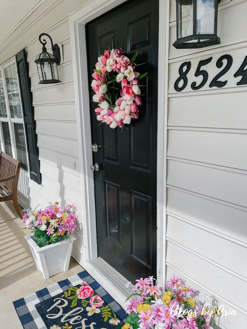 small front porch decorating ideas for spring