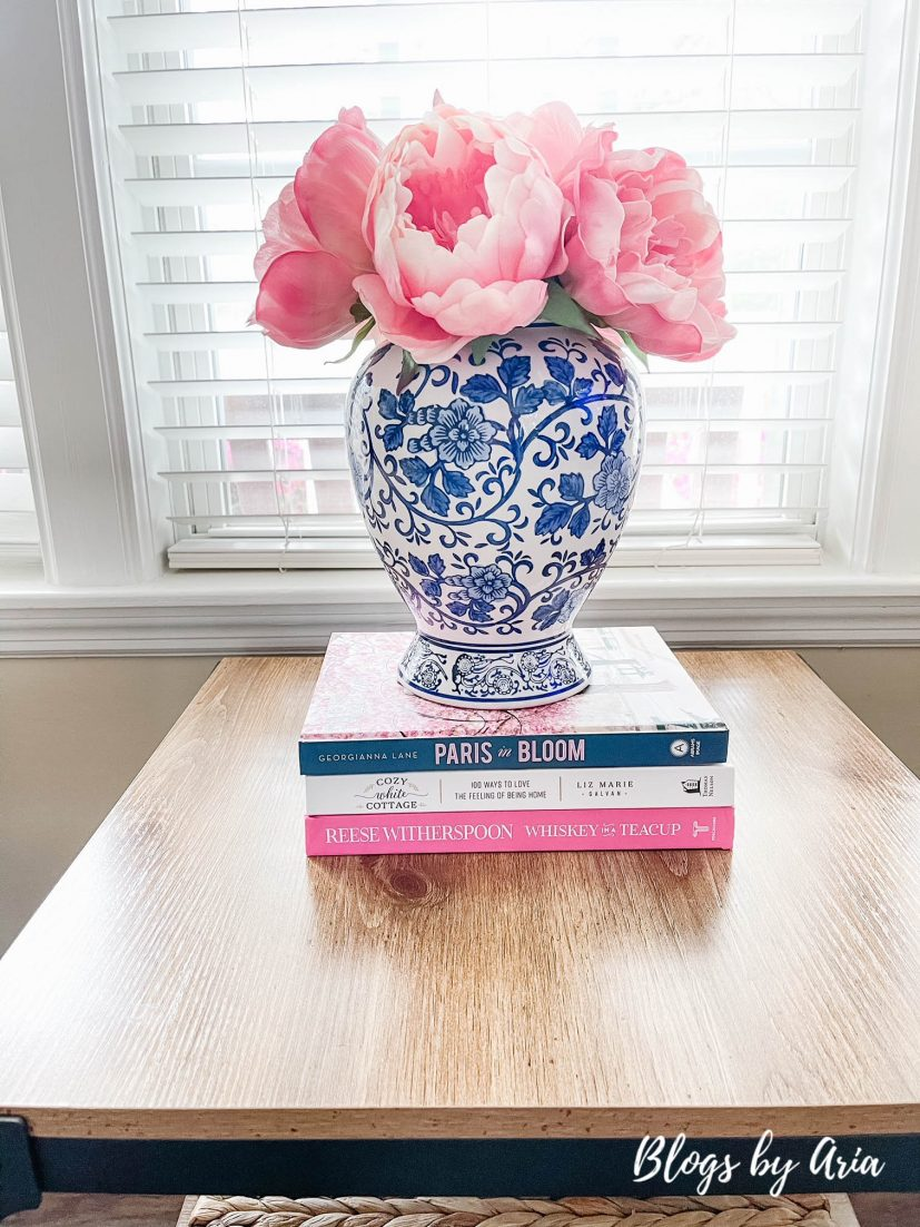 decorate your home for spring with ginger jars