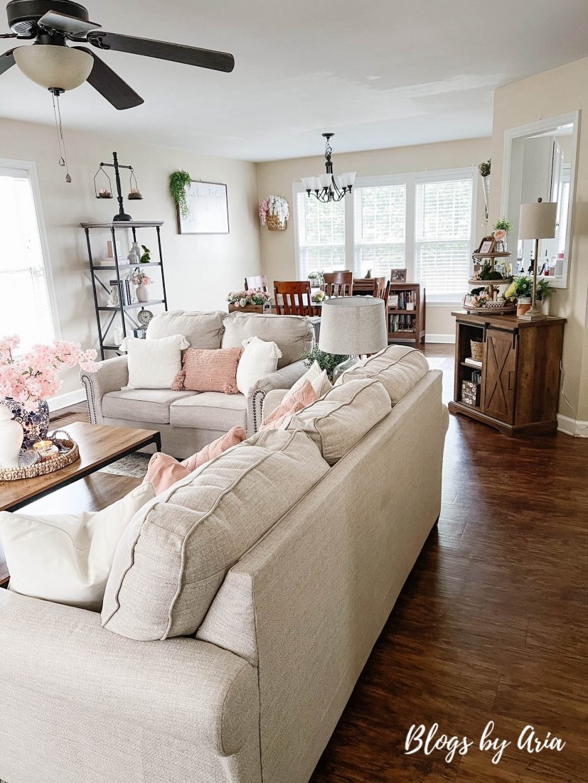 Spring home decorating styles
