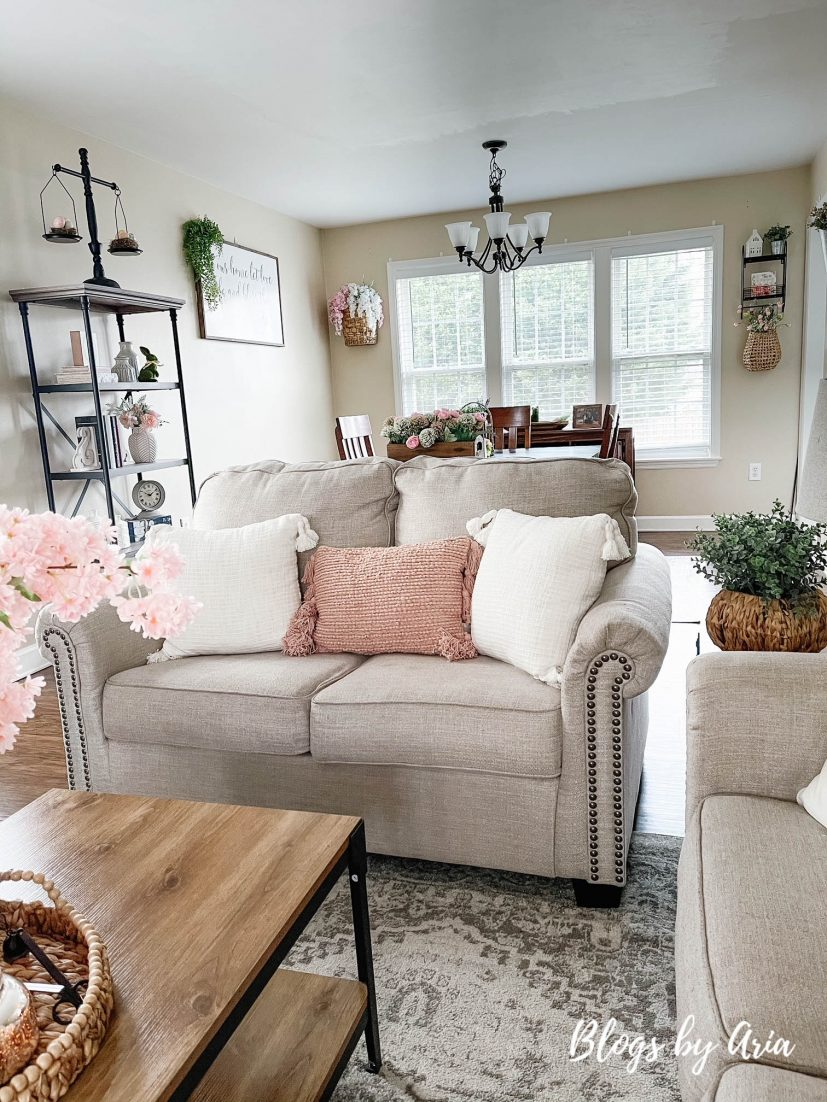 decorate your home for spring on a budget