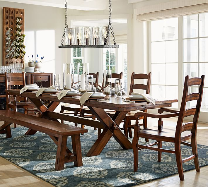 Toscana Extending Dining Room Table