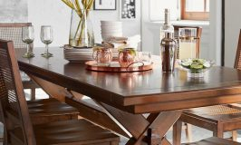 Affordable Modern Farmhouse Dining Tables Under $900