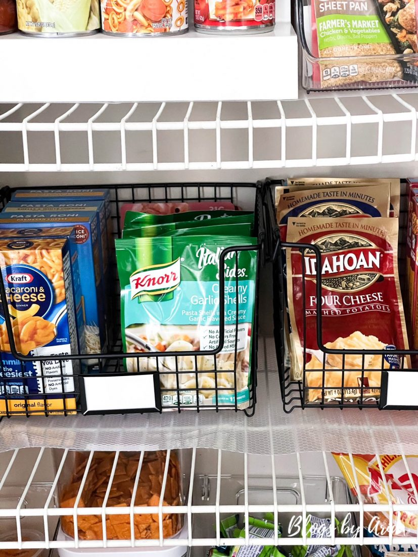 small pantry organization makeover