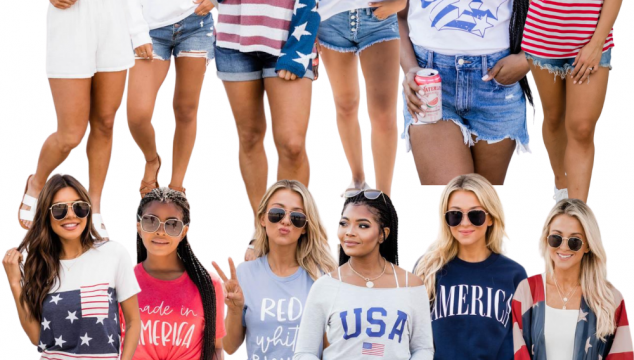 Americana Outfit Ideas + Weekend Sales