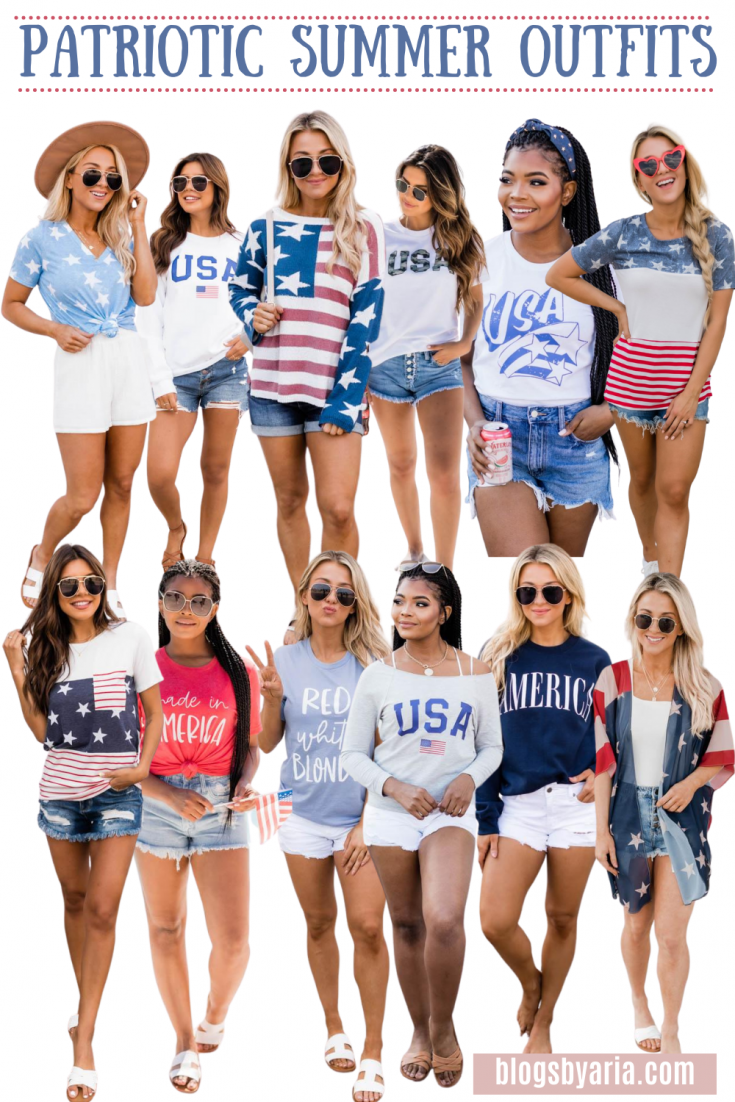 Patriotic Summer Outfit Ideas
