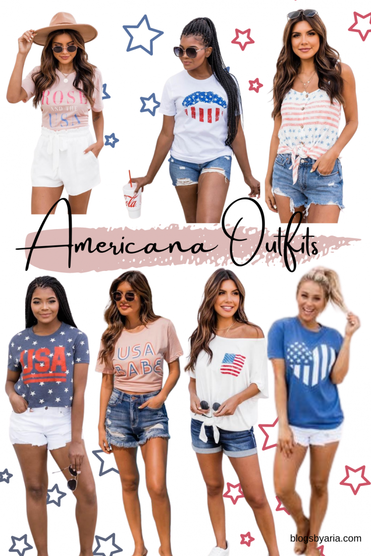 Americana Outfit Ideas for Summer