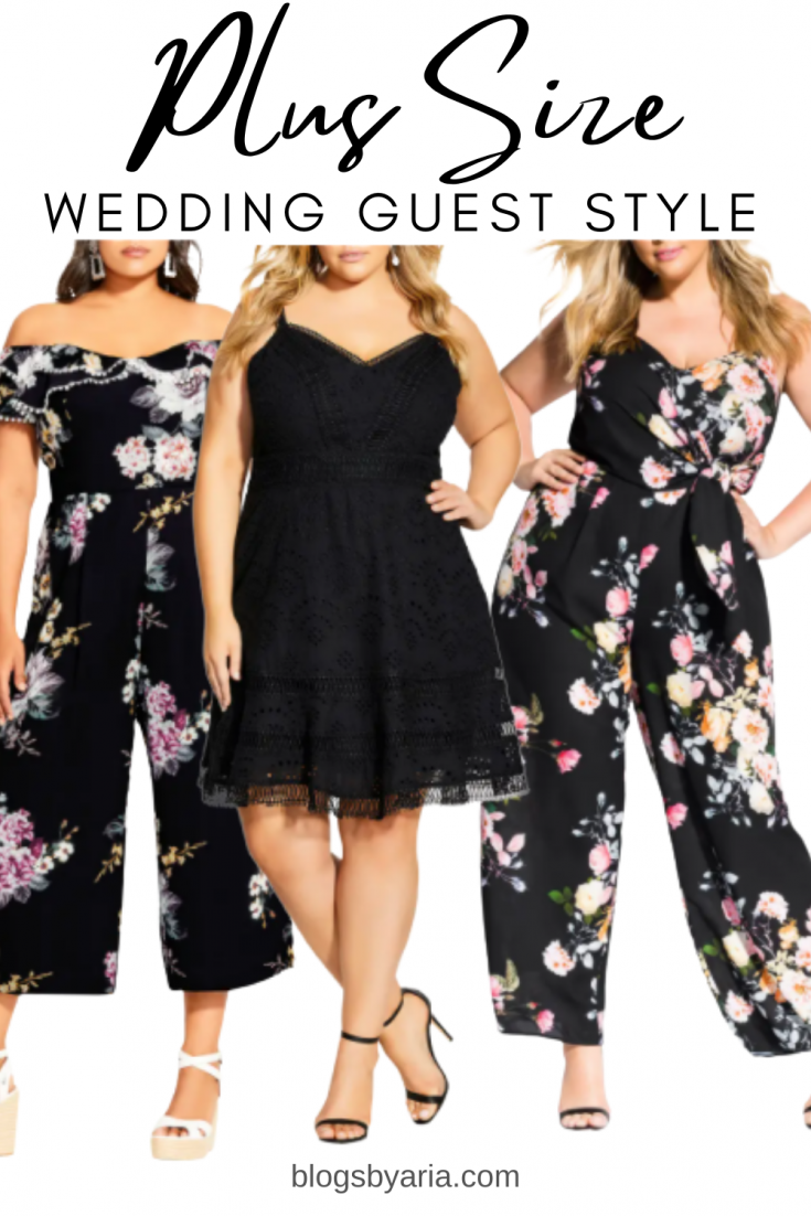 plus size wedding guest styles