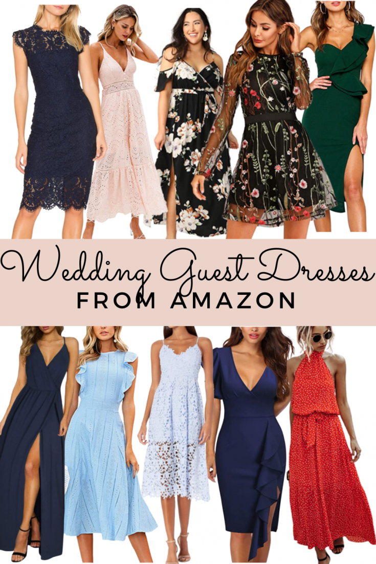 wedding guest dresses from Amazon