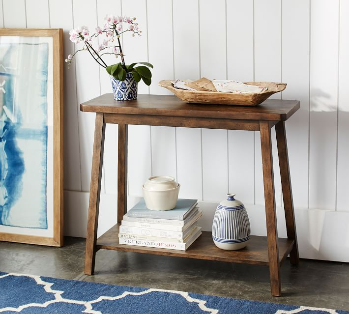 small space entryway table