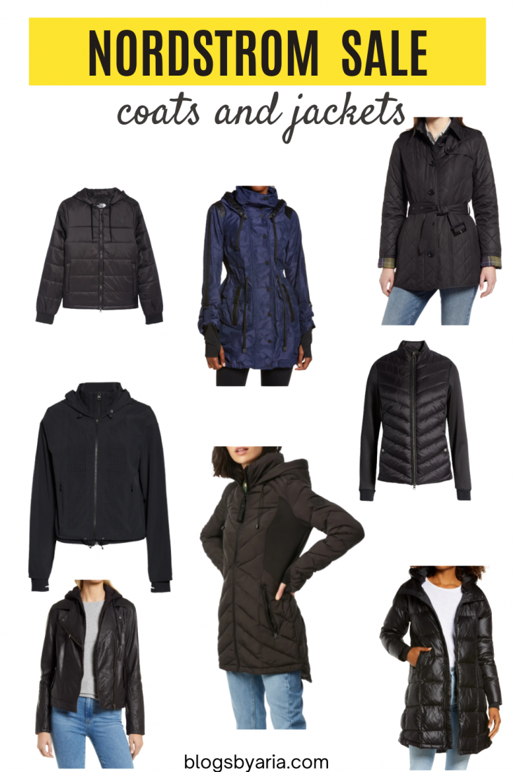 Nordstrom Anniversary Sale coats and jackets sale picks