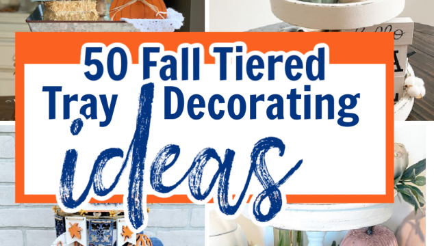 50 Fall tiered tray decorating ideas
