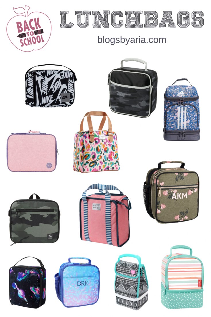 back to school affordable lunch bags