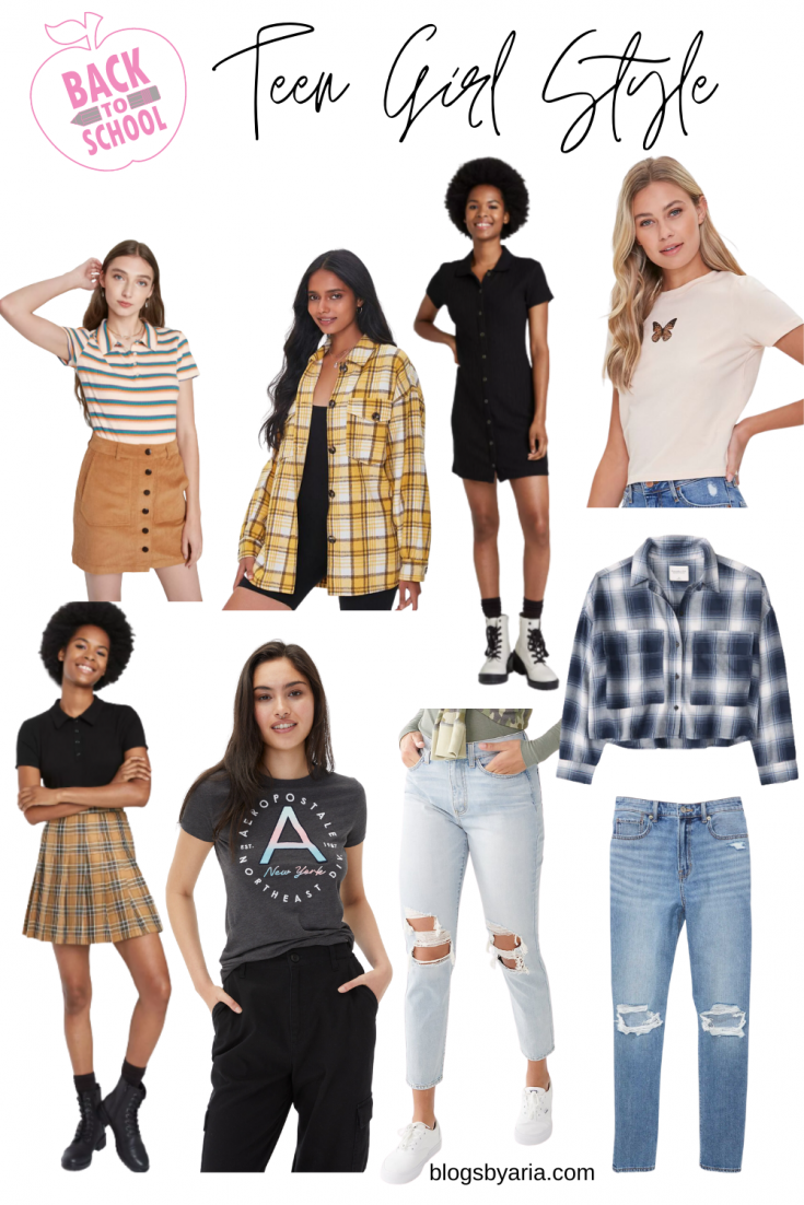 teen girl style ideas and outfits for back to school teen girl outfit ideas