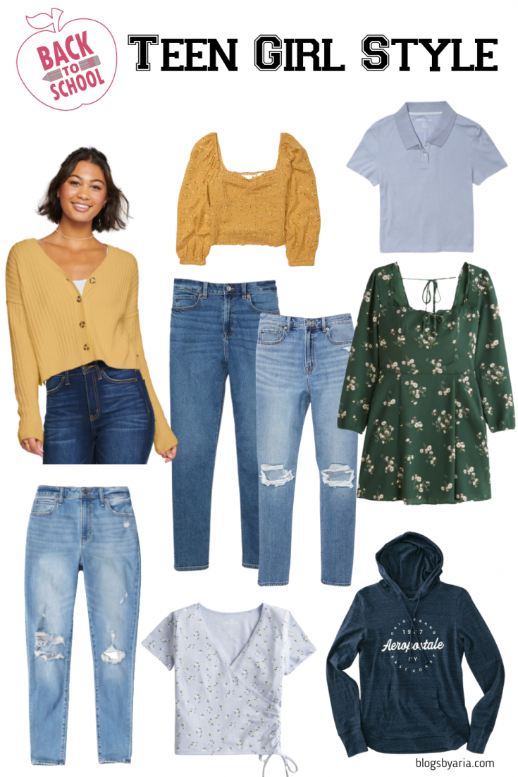 teen girl style ideas and outfits for back to school