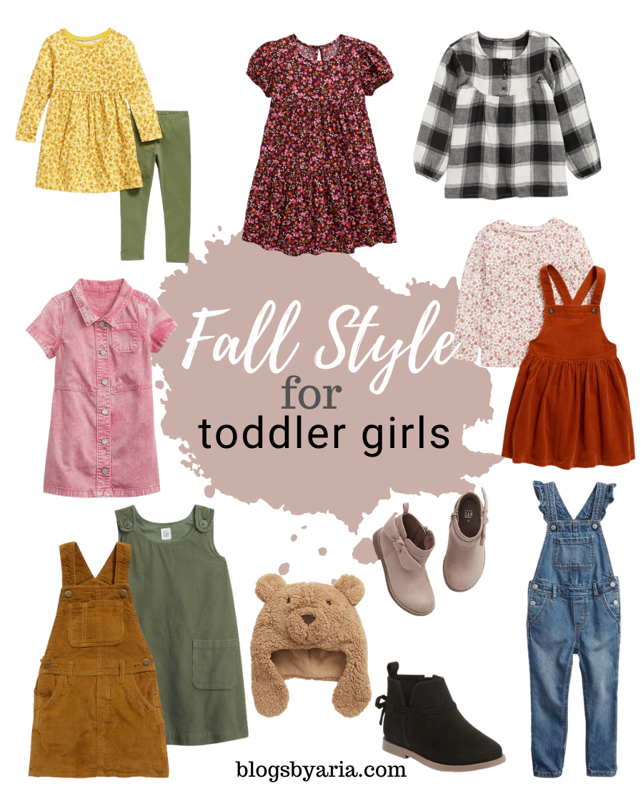 fall style for toddler girls