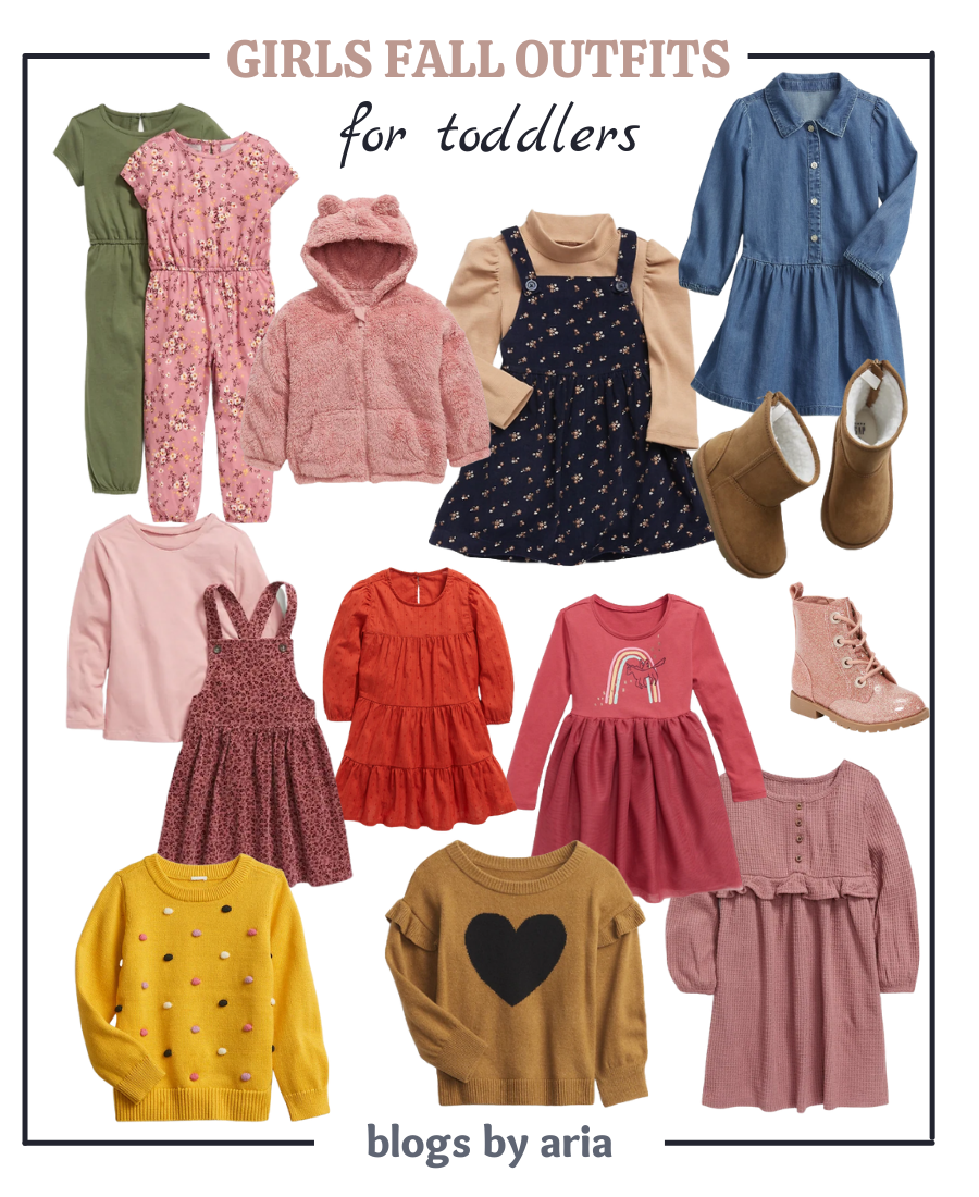 girls fall outfits for toddlers